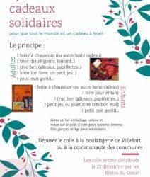 Opération cadeaux solidaires