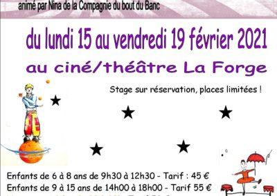 Nouveau : Stage de cirque pour les adultes